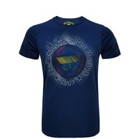 Fenerium Erkek Tribün Yüksek Baskılı Logo T-Shirt