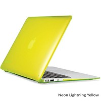 "Speck Smartshell Macbook Air 13"" Koruma Kılıf - Neon Lightning Yellow"