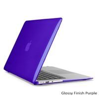 """Speck Smartshell Macbook Air 13"""" Koruma Kılıf - Glossy Finish Purple"""