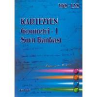 Kartezyen Eğitim Yayınları Ygs-Lys Geometri 1 Soru Bankası Mavi Seri