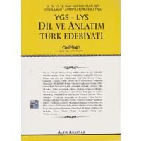 Altın Anahtar Yayınları Anahtar Ygs-Lys 9-10-11-12. Sınıf Dil Ve Anlatım Türk Edebiyatı