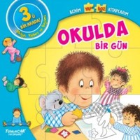 Benim Yapboz Kitaplarım Okulda Bir Gün