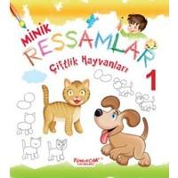 Minik Ressamlar Boyama Seti 4 Kitap