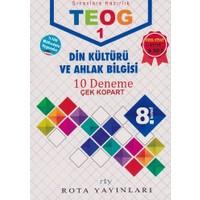 Rty Rota Yayınları 8. Sınıf Teog 1 Din Kültürü Ve Ahlak Bilgisi 10 Deneme Çek Kopart