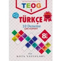Rty Rota Yayınları 8. Sınıf Teog 1 Türkçe 10 Deneme Çek Kopart
