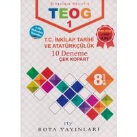 Rty Rota Yayınları 8. Sınıf Teog 1 T.C. İnkılap Tarihi Ve Atatürkçülük 10 Deneme Çek Kopart
