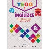 Rty Rota Yayınları 8. Sınıf Teog 1 İngilizce 10 Deneme Çek Kopart