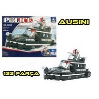 Ausini 133 Parça Police Tekne