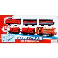 Happy Train Pilli Kırmızı Tren