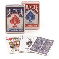 Bicycle Standart Index Poker İskambil Oyun Kartı Kağıdı Destesi 2'li Mavi Kırmızı