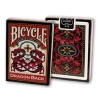 Bicycle Dragon Back Red Kırmızı Poker İskambil Oyun Kartı Kağıdı Destesi Koleksiyonluk