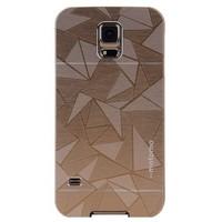 Motomo Samsung Galaxy S5 Desenli Motomo Kılıf Gold