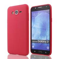 Tlfcom Samsung Galaxy J7 Silikon Kılıf Kırmızı