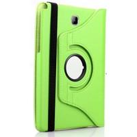 Exclusive Phone Case Samsung Galaxy Tab A T350 Kılıf 360 Standlı Yeşil+Film+Kalem