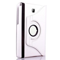 Exclusive Phone Case Samsung Galaxy Tab A T550 Kılıf 360 Standlı Beyaz+Film+Kalem