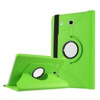 Exclusive Phone Case Samsung Galaxy Tab E T560 Kılıf 360 Standlı Yeşil+Film+Kalem