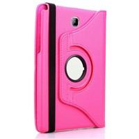 Exclusive Phone Case Samsung Galaxy Tab A T550 Kılıf 360 Standlı Pembe+Film+Kalem