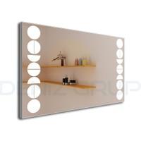 Led Işık Aydınlatmalı Ayna Model : LE3-032