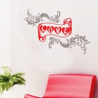 Decor Desing Yazılı Sticker KON056