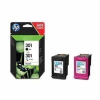 Hp 301 Kartuş Siyah-Renkli Set N972AE Deskjet 1510/1050/2050/3050