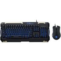 Thermaltake Tt eSPORTS Commander Combo Mavi Işıklı Oyuncu Klavye + Mouse seti TTS-KB-CMC-PLBLTK-01