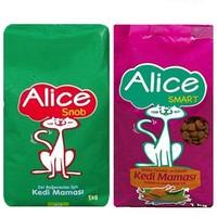 Alice Smart & Snob Kedi Maması 1 kg + 1kg