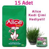 Alice Snob Kedi Maması 15x1 Kg