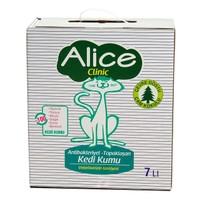 Alice Clinic Topaklaşan, Antibakteriyel, Çam Kokulu Kedi Kumu 7 Lt
