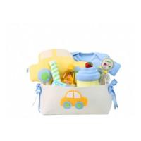 Baby Muu Arabalı Hediye Sepeti