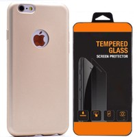 Exclusive Phone Case İphone 5 5S Kılıf Mat Silikon +Tempered Glass