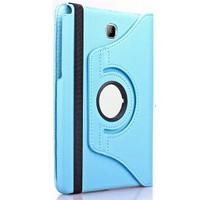 Exclusive Phone Case Samsung Galaxy Tab A T350 Kılıf 360 Standlı Turkuaz+Film+Kalem