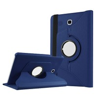 Exclusive Phone Case Samsung Galaxy Tab S T800 Kılıf 360 Standlı Lacivert+Film+Kalem