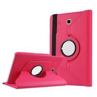 Exclusive Phone Case Samsung Galaxy Tab S2 T810 Kılıf 360 Standlı Pembe+Film+Kalem