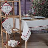 Baraka Home Flax Mutfak Tekstil Seti MSE04