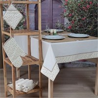 Baraka Home Flax Mutfak Tekstil Seti MSE07