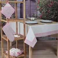 Baraka Home Flax Mutfak Tekstil Seti MSE08