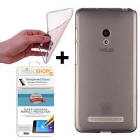 Mobil Shop Asus Zenfone 6 Kılıf 0.2MM Silikon (Cam)