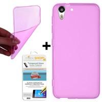 Mobil Shop HTC Desire 816 Kılıf 0.2MM Silikon (Kırılmaz Cam)