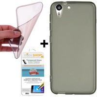 Mobil Shop HTC Desire 816 Kılıf 0.2MM Silikon (Cam)