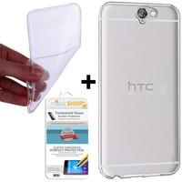 Gpack HTC One A9 Kılıf 0.2MM Silikon (Cam)