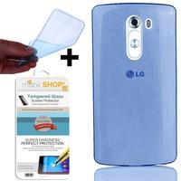 Gpack LG G2 Kılıf 0.2MM Silikon (Cam)