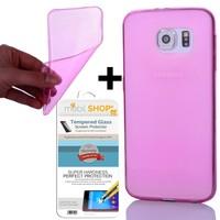 Gpack Samsung Galaxy S7 Kılıf 0.2MM Silikon (Cam)
