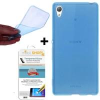 Gpack Sony Xperia Z3 Premium Kılıf 0.2MM Silikon (Cam)