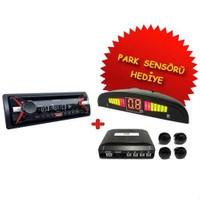 Sony CDX-G1100 CD 'li Oto Teyp Park Sensörü