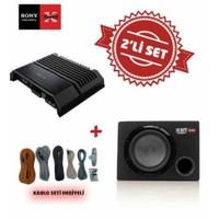 Sony XM-GS100 Mono Amfi ile XS-NW1200E Kabinli Subwoofer Set