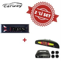 Carway CR-3000 Oto Teyp ile Park Sensör Set