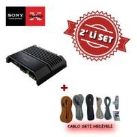 Sony XM-GS4 4 kanal Amfi ile Kablo Seti