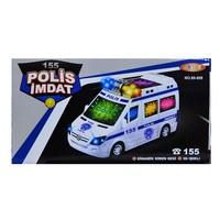 Can Oyuncak 89-899 Kutulu Pilli Polis Arabası