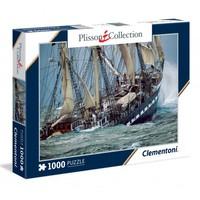 Clementoni 39350 French Ship-Plisson 1000 Parçapuzzle