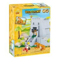 Cobi 22220 Tiger Habıtat 220 Parça Wild Story